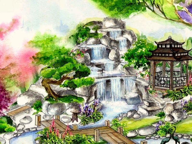 проект японского сада 01