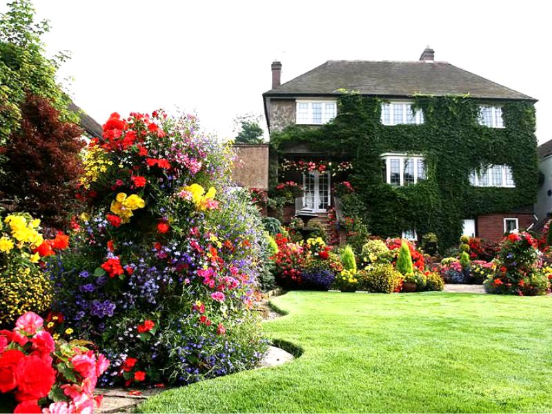 Пример ландшафта в Голландском стиле